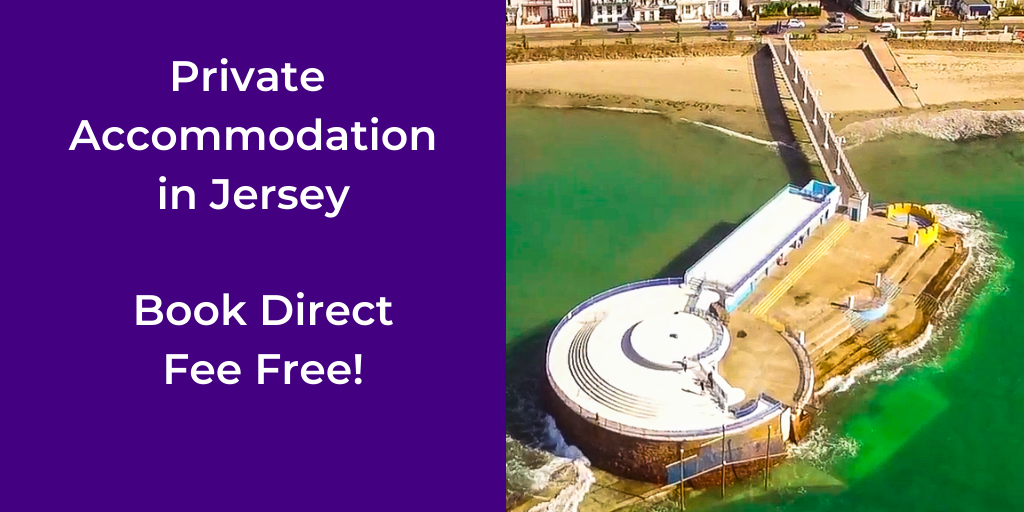 private holiday accommodation in Jersey