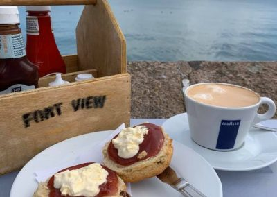 Beach cafes in Jersey
