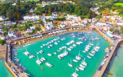 St Aubin's Bay & St Aubin's Village