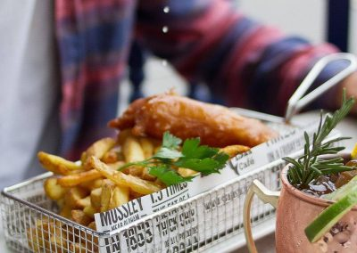 Fish and Chips Seafish Cafe Jersey