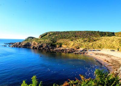 Petit Port Bay in Jersey