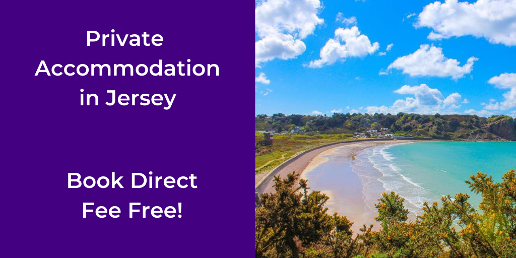 book accommodation in Jersey
