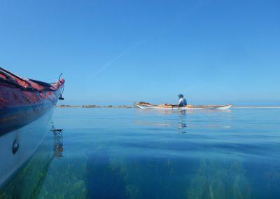 Sea Kayaking in Jersey
