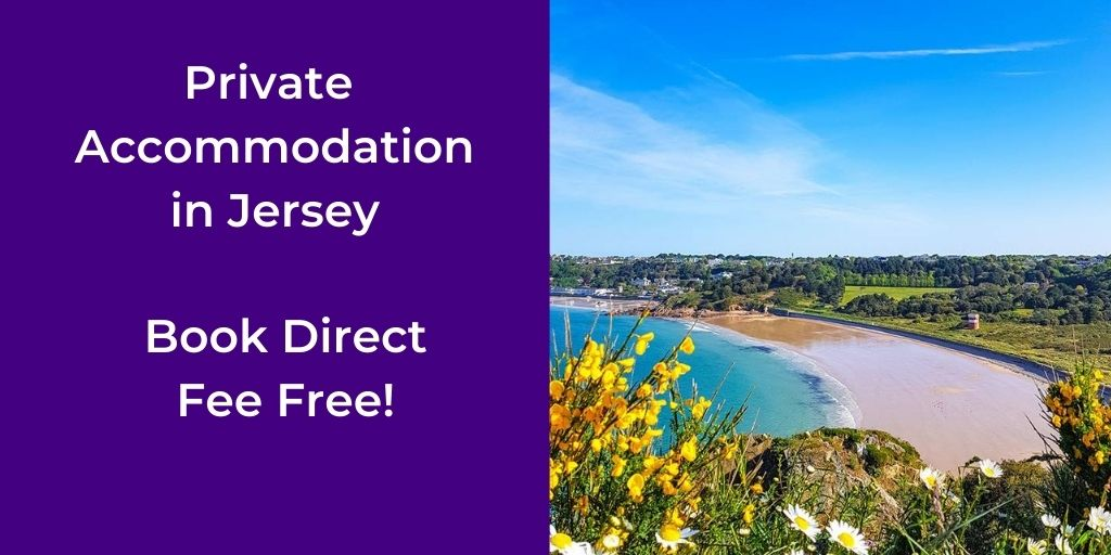 book accommodation in Jersey direct