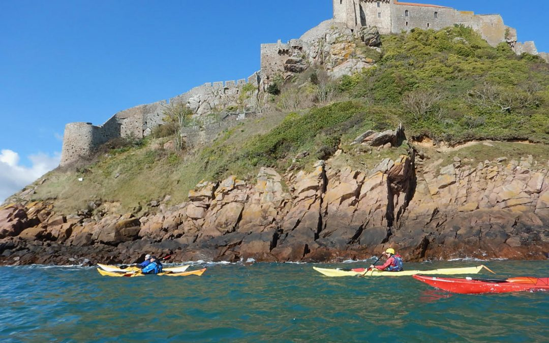Sea Kayaking in Jersey