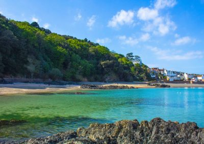 Hidden beaches in Jersey