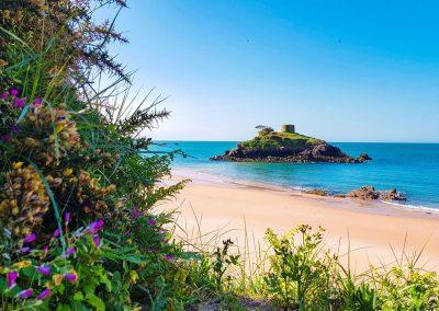 Portelet Bay in Jersey