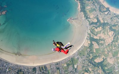 Skydiving in Jersey