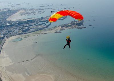 Jersey skydive