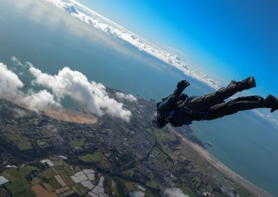 Skydiving Island of Jersey
