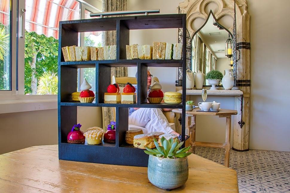 Afternoon-tea-St Brelade's Bay Hotel