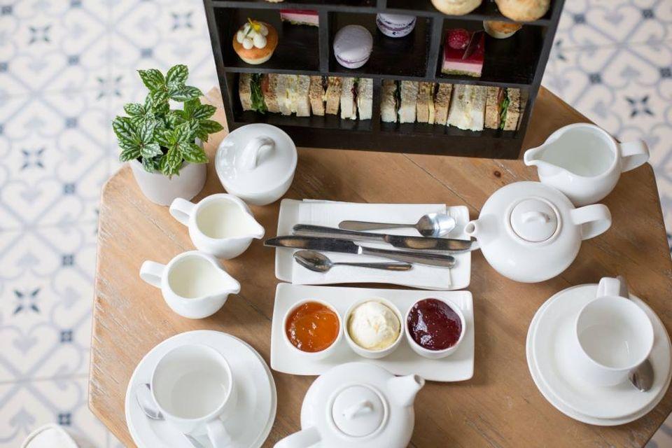 afternoon tea st brelade's bay hotel