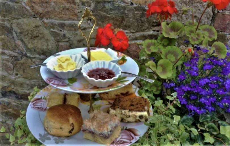 afternoon tea in Jersey