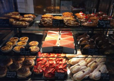 cakes and tarts Vienna Bakery