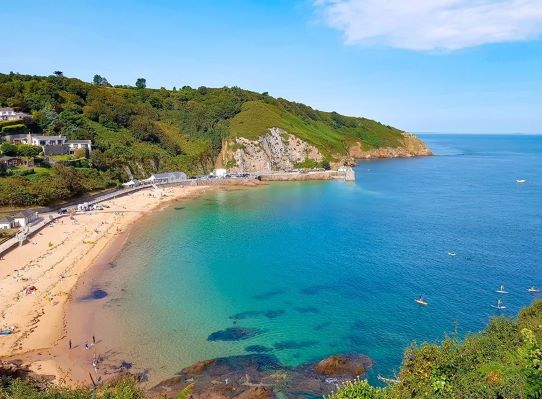 6 Swimming Beaches in Jersey.