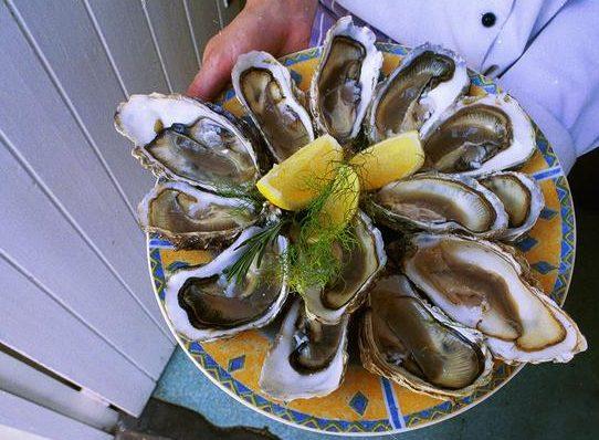 seafood summer restaurants in Jersey