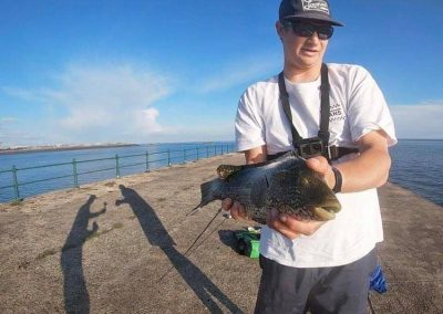 sea fishing in Jersey