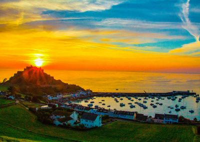Best sunrise & sunset spots in Jersey.