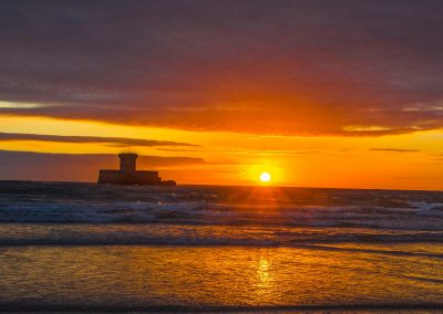 sunset La Rocco