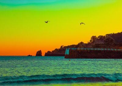 sunset st brelade's bay Jersey