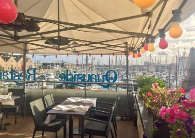 Quayside restaurant St Helier Jersey