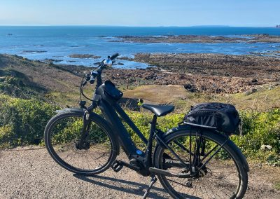 e-bike cycling routes in Jersey